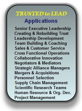 Trusted to Lead Applications Robert Porter Lynch